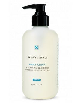 Simply Clean Simply Clean Pore-refining gel cleanses, exfoliates, and soothes normal, combination, or oily skin