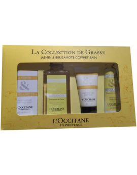Loccitane Jasmin And Bergamote Gel Douche 250ml Coffret 4 Produits 2015
