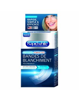 Rapid white Bandes de blanchiment express 5 minutes