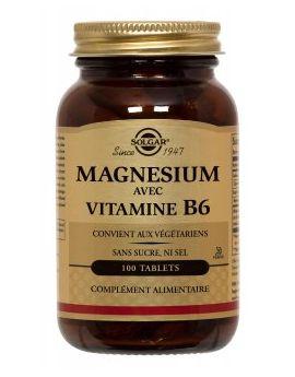 Magnésium avec vitamine B6